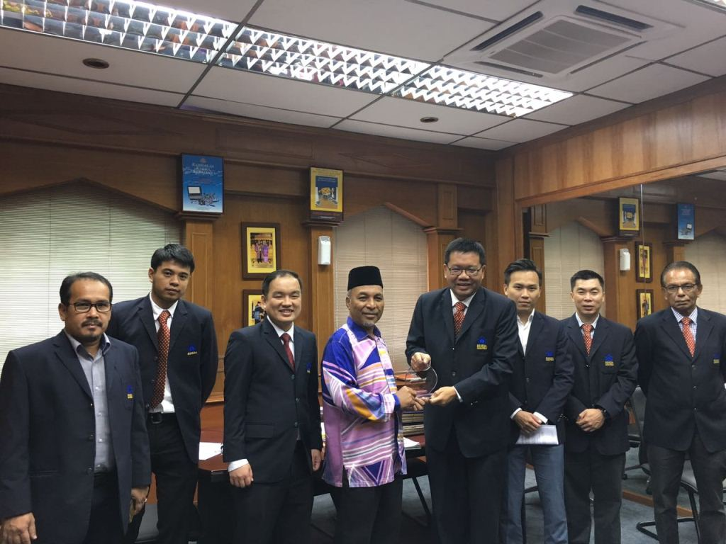 COURTESY CALL ON DATUK BANDAR MBAS